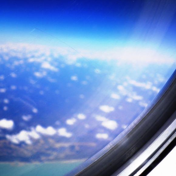Focused window - rest is blurred