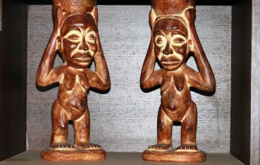 Indonesian tribal pair